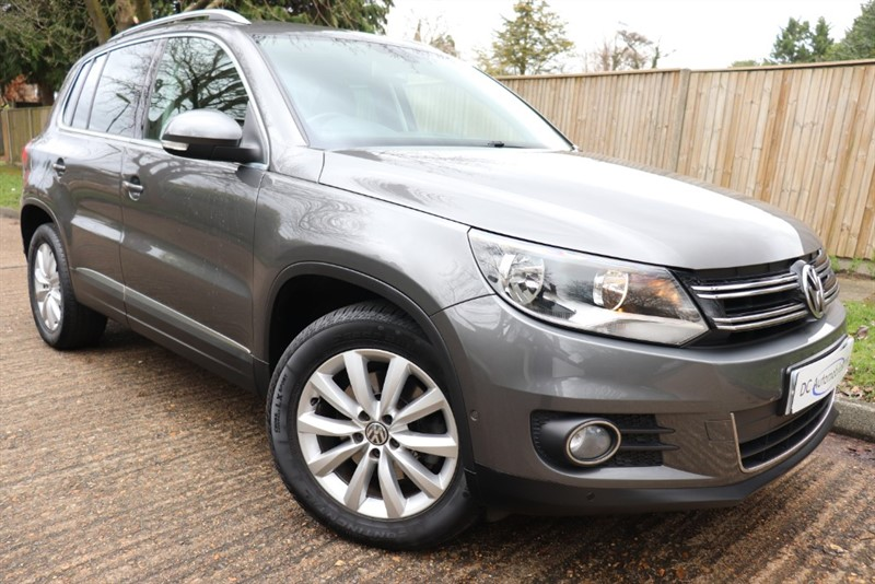 used VW Tiguan MATCH TDI BLUEMOTION TECHNOLOGY in surrey