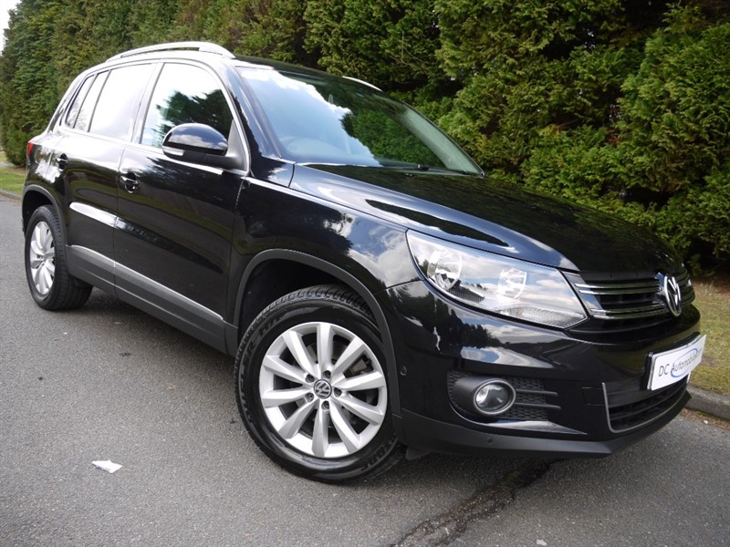 used VW Tiguan MATCH TDI BLUEMOTION TECH 4MOTION DSG in surrey