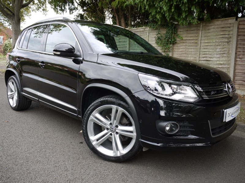used VW Tiguan R LINE EDITION TDI BMT 4MOTION in surrey