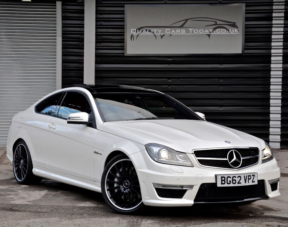 usedmercedes c class c63 amg coupe vat qualifying massive spec for sale in south yorkshire. Black Bedroom Furniture Sets. Home Design Ideas