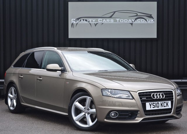 used Audi A4 Avant 3.0 TDI QUATTRO S LINE S Tronic *1 Former Keeper+Massive Spec* in sheffield