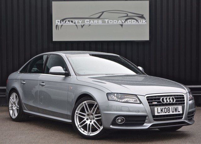 used Audi A4 2.0 TDI S LINE *Full History + Full Leather + 19s* in sheffield