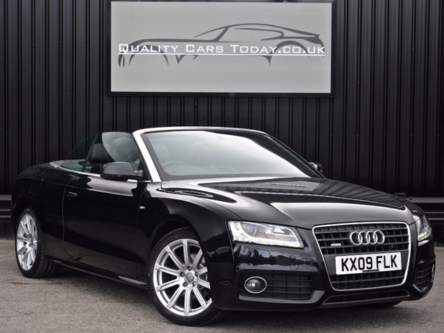 used Audi A5 2.0 TFSI S LINE Convertible Auto *High Spec* in sheffield