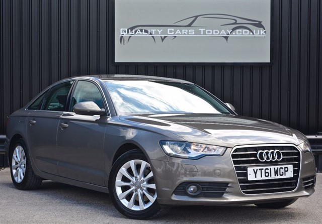 used Audi A6 2.0 TDI SE Manual *Full History + Nav + Leather + Keyless* in sheffield