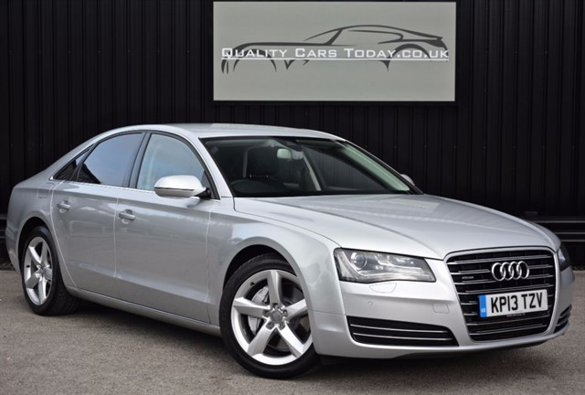 used Audi A8 3.0 TDI Quattro SE Executive *Full Audi History + Audi Warranty* in sheffield
