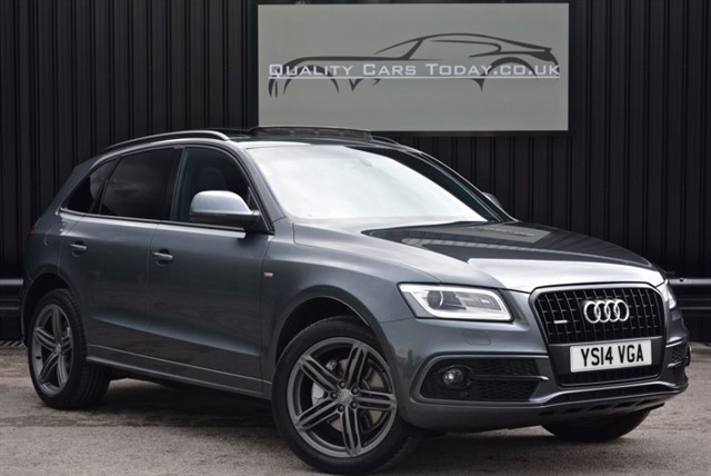 used Audi Q5 3.0 TDI QUATTRO S LINE PLUS *Massive Spec + FASH + VAT Q* in sheffield