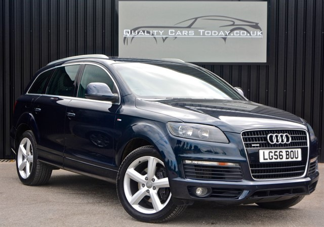 used Audi Q7 3.0 TDI Diesel Quattro S Line *High Spec + Full Service History* in sheffield