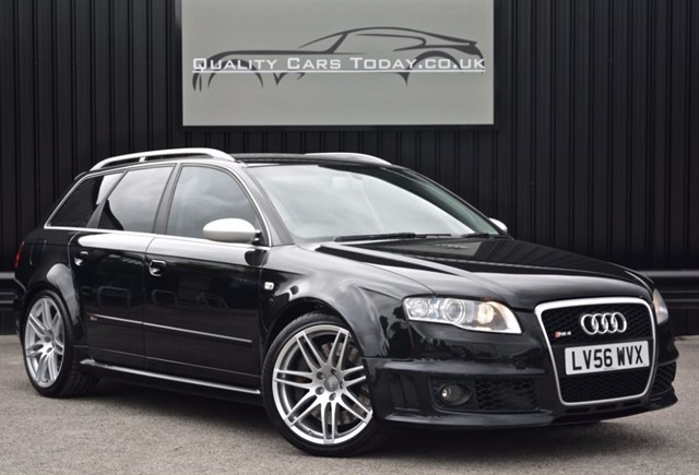 used Audi RS4 Avant 4.2 V8 Quattro *2 Former Keepers + Full Service History in sheffield