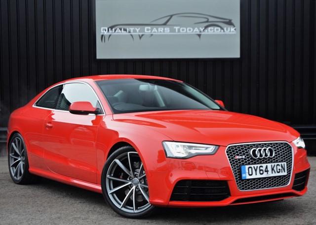 used Audi RS5 4.2 V8 FSI Quattro *Bucket Seats + B&O + £70K List Price* in sheffield