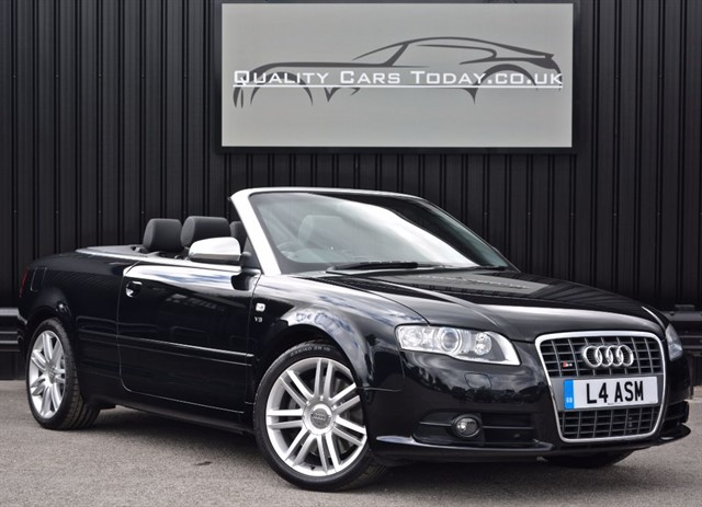 used Audi S4 4.2 V8 Manual QUATTRO Convertible *1 Lady Owner + Full Audi History* in sheffield