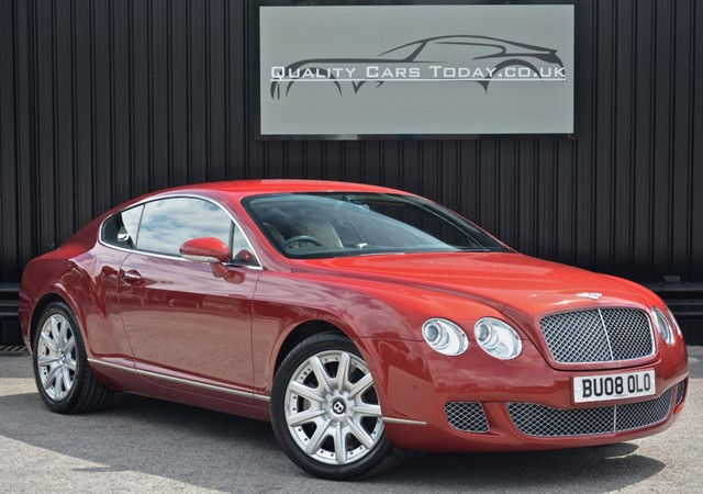 used Bentley Continental GT 6.0 W12 Umbrian Red *Excellent Provenance & Full Service History* in sheffield