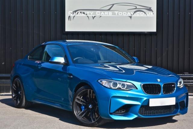 used BMW M2 Manual * Long Beach Blue + 5yr Service Plan + Harmon Kardon etc* in sheffield