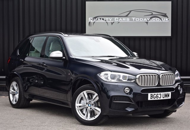 used BMW X5 M 50D *1 Owner + Full BMW History + VAT Q + Surround View* in sheffield