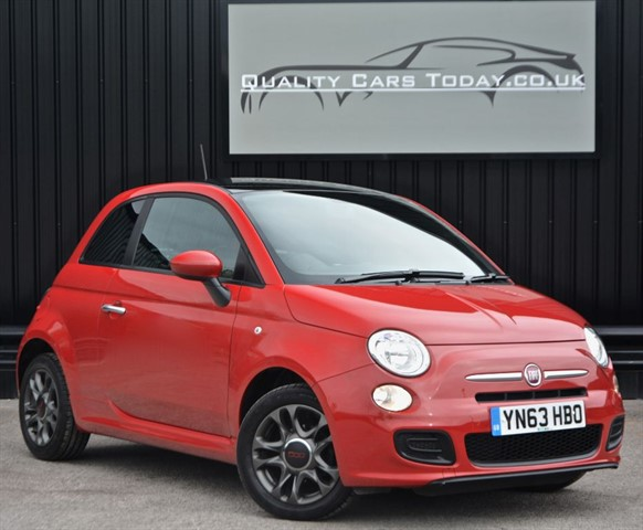 used Fiat 500 S 1.2 Sport *1 Former Keeper + Just 14k Miles + Full Fiat History* in sheffield