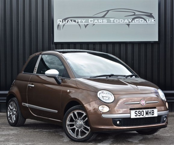 used Fiat 500 1.2 Sport BY DIESEL Limited Edition in sheffield