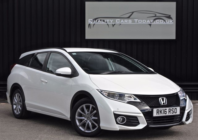used Honda Civic 1.6 I-DTEC Diesel SE PLUS NAVI TOURER Estate  in sheffield