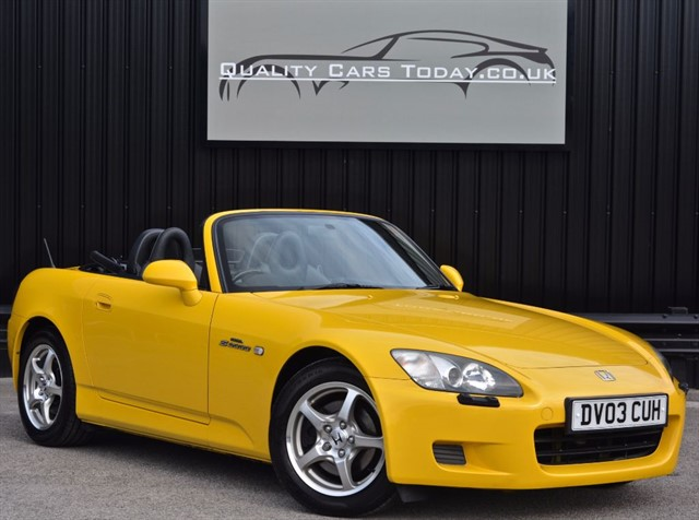 used Honda S2000 GT * Rare Indy Yellow + FSH + Last Owner Since 2007* in sheffield