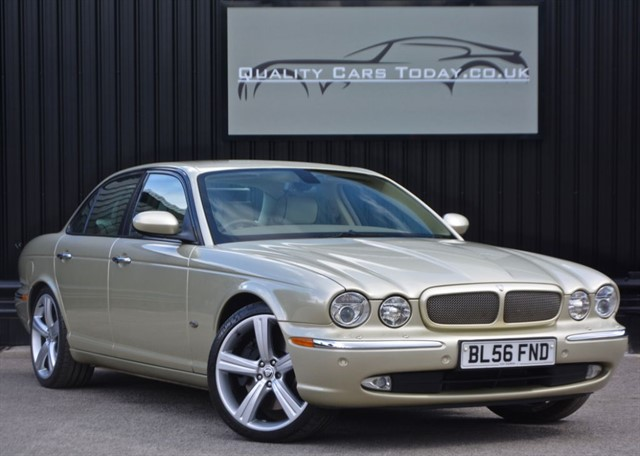 used Jaguar XJ XJR 4.2 V8 Supercharged *1 Former Keeper + Full Jaguar Main Dealer History in sheffield
