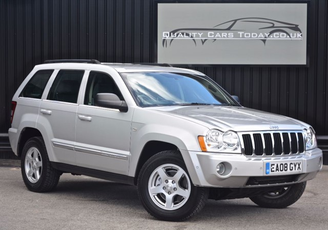 used Jeep Grand Cherokee 3.0 V6 CRD LIMITED *1 Former Keeper + Beautiful Condition* in sheffield