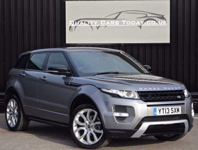 used Land Rover Range Rover Evoque SD4 Dynamic Automatic *1 DR Owner + Full LR History + Service Pack* in sheffield