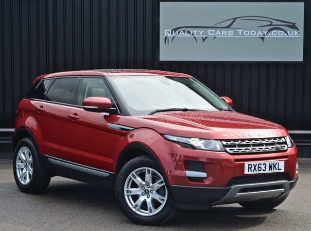 used Land Rover Range Rover Evoque SD4 PURE TECH 4WD Auto *High Spec + Full LR Dealer History* in sheffield
