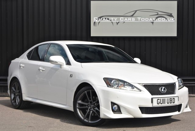 used Lexus IS 250 F SPORT *1 Off Spec + GFX Bodykit + F-Sport Exhaust +Full Lexus Main Dealer in sheffield