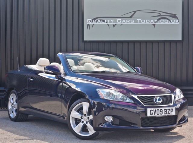 used Lexus IS 250C SE-L *Massive Rare Spec + Full Lexus History* in sheffield