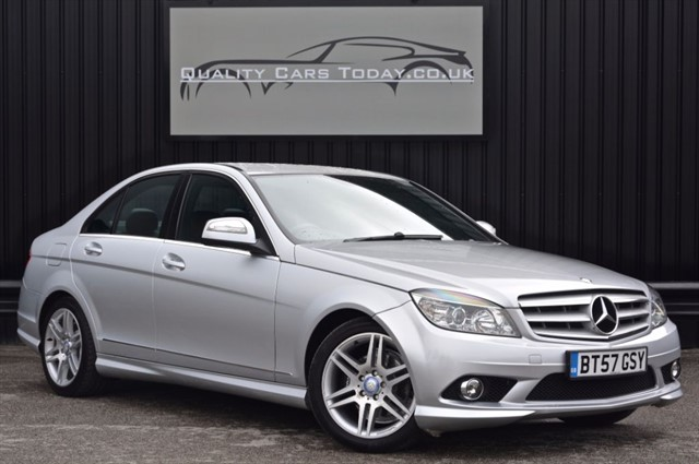 used Mercedes C200 CDI SPORT Auto *Nav + Full Leather + Full History in sheffield