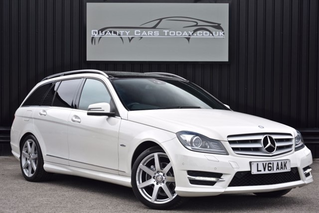 used Mercedes C220 CDI Sport Edition 125 Estate *Full MB History + High Spec* in sheffield