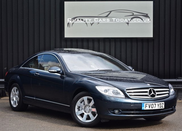 used Mercedes CL500 5.5 V8 *1 Owner + Full MB Main Dealer History in sheffield