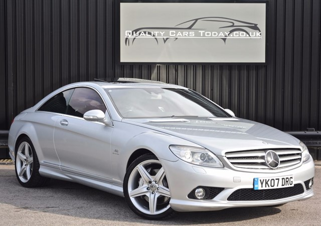 used Mercedes CL600 5.5 V12 BiTurbo Coupe *AMG Styling + Full MB Dealer History* in sheffield