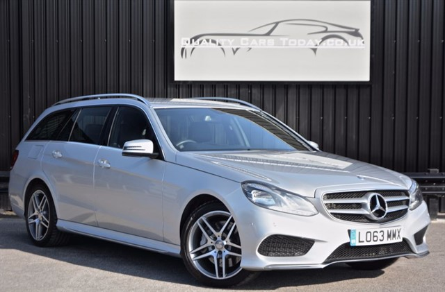 used Mercedes E350 BLUETEC AMG SPORT in sheffield