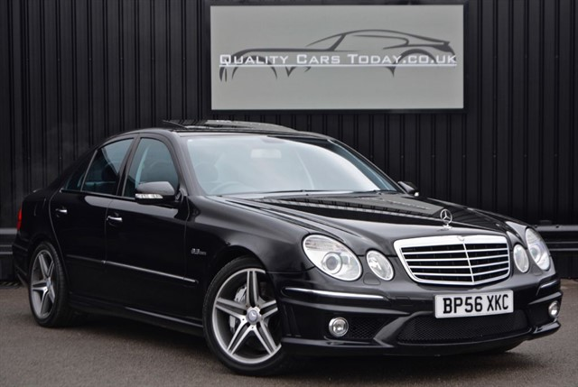 used Mercedes E63 AMG 6.2 V8 *Full Service History + Just Serviced by MB* in sheffield
