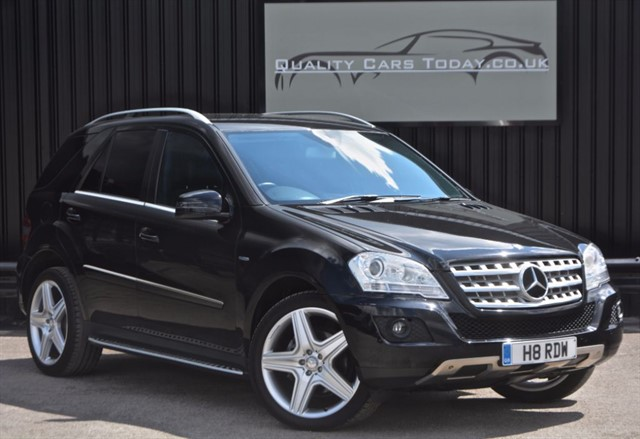 used Mercedes ML350 3.0 V6 CDI BLUEEFFICIENCY SPORT *21 inch AMG Wheels + Full History* in sheffield