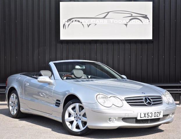 used Mercedes SL SL 500 5.0 V8 *Full Service History* in sheffield
