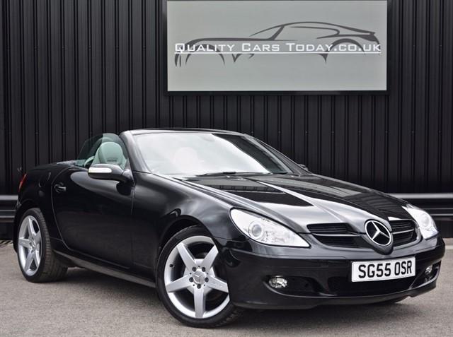 used Mercedes SLK 280 3.0 V6 Auto *Full Service History + AMG Wheels + Airscarf etc* in sheffield