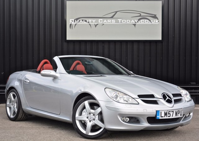 used Mercedes SLK 350 3.5 V6 *Full Designo Leather Interior + Full MB Dealer History* in sheffield