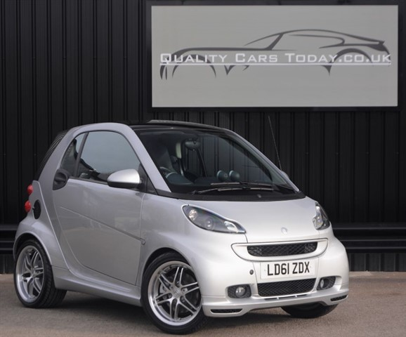 used Smart Car Fortwo Coupe Brabus Xclusive *Just 5k Miles from New* in sheffield