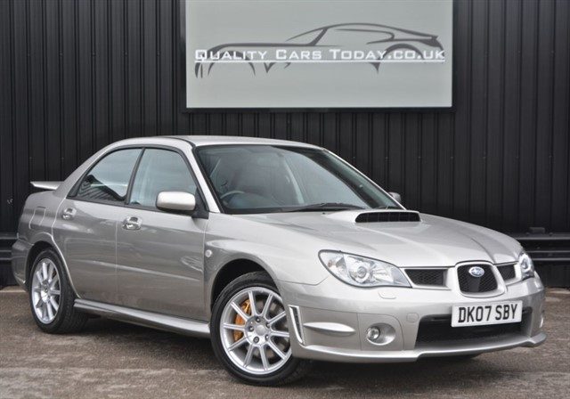 used Subaru Impreza WRX STI SPEC-D in sheffield