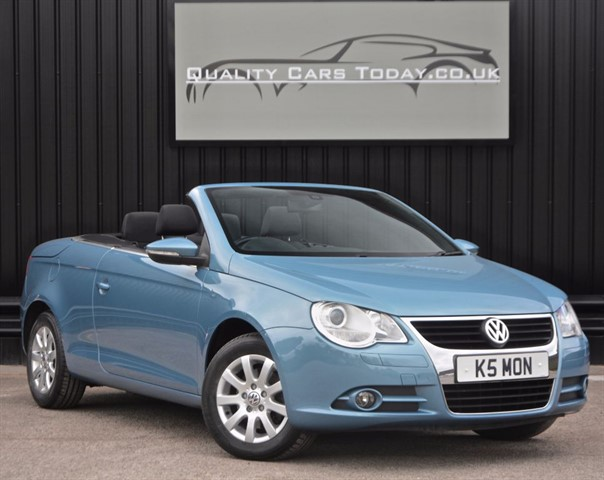 used VW Eos SE 1.4 TSI *1 Former Keeper + Glass Roof + Full History in sheffield