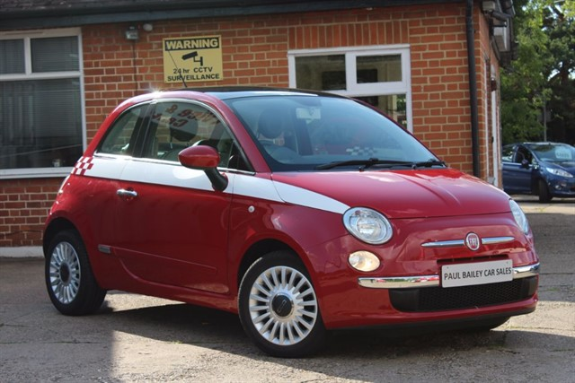 used Fiat 500 LOUNGE in chelmsford-essex