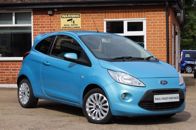 used Ford KA ZETEC in chelmsford-essex