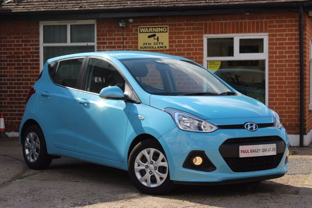 used Hyundai i10 SE in chelmsford-essex