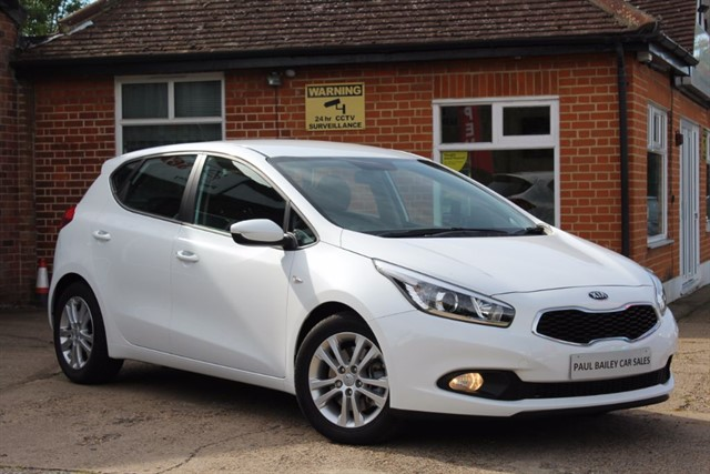 used Kia Ceed VR7 in chelmsford-essex