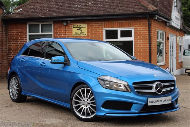 used Mercedes A220 CDI BLUEEFFICIENCY AMG SPORT in chelmsford-essex