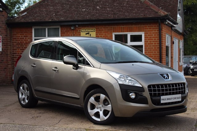 used Peugeot 3008 SPORT HDI in chelmsford-essex