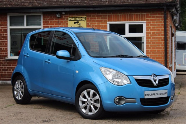 used Vauxhall Agila SE in chelmsford-essex