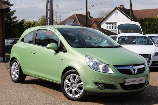 used Vauxhall Corsa SE in chelmsford-essex