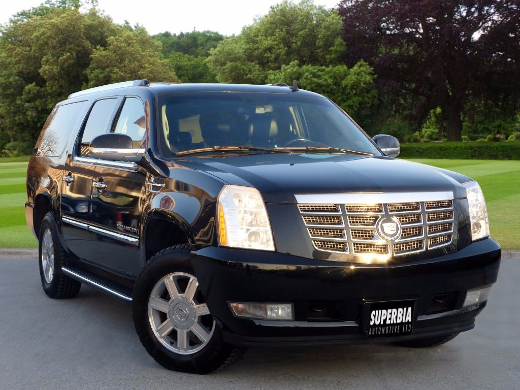 used black cadillac escalade for sale essex. Black Bedroom Furniture Sets. Home Design Ideas
