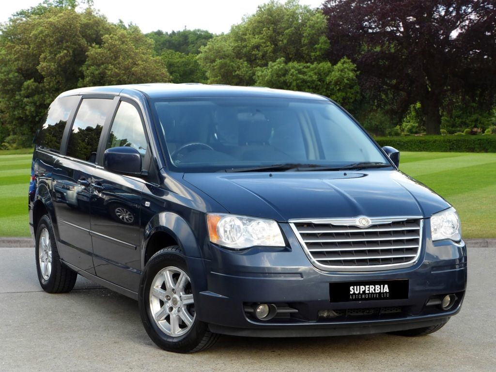 used blue chrysler grand voyager for sale essex. Black Bedroom Furniture Sets. Home Design Ideas